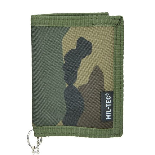 Mil-Tec Wallet with a Chain Woodland