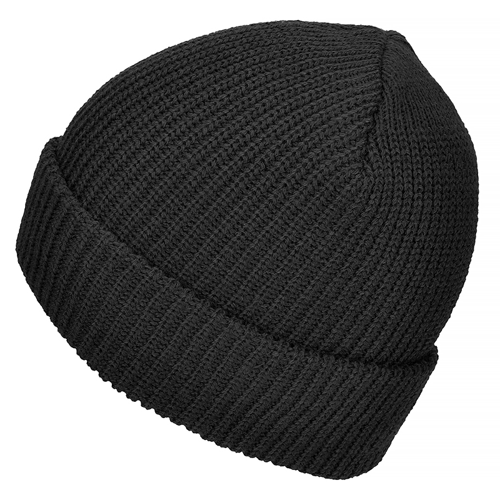 Mil-Tec Warm Winter Cap Polyacrylic Black