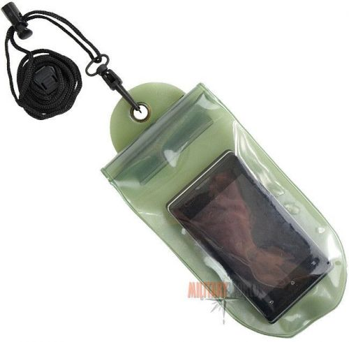 Mil-Tec Waterproof Case 100/230mm Olive