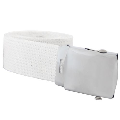 Mil-Tec Web Belt White