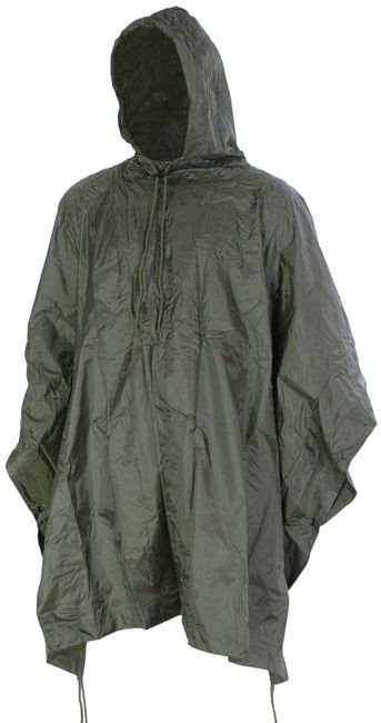 Mil-Tec Wet Weather Poncho Olive
