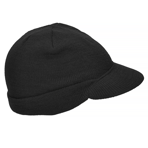 Mil-Tec Wool Jeep Cap Black