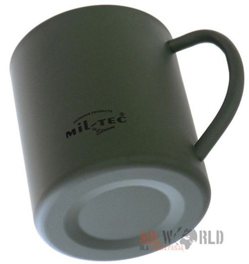 Mil-Tec insulated Mug 450ml Olive