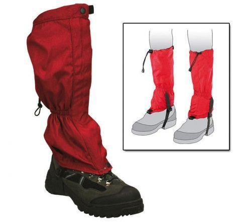 Pro-Force Gaiters Red