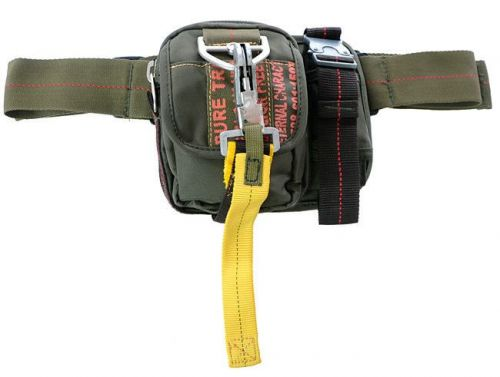 Pure Trash Bum Bag with Carabiner Olive
