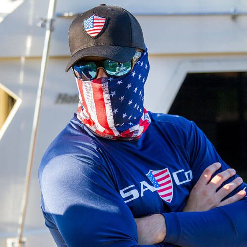 SA Co. Face Shield™ American Flag
