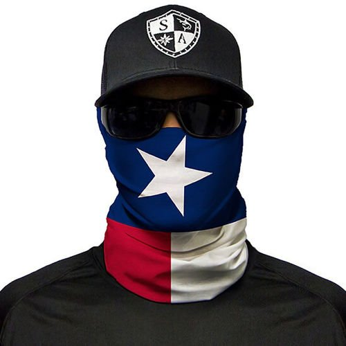 SA Co. Face Shield™ Texas State Flag