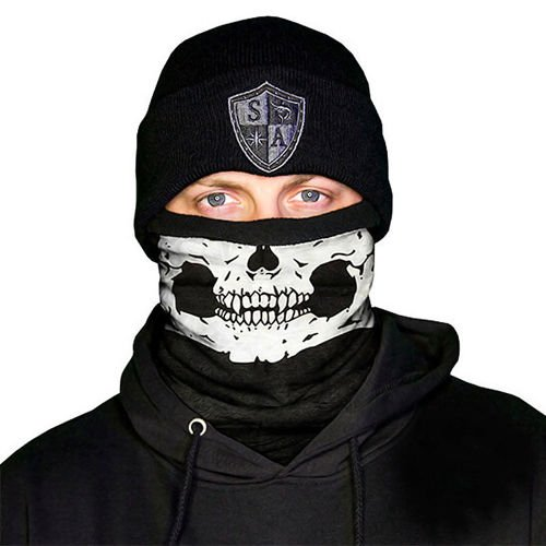 SA Co. Frost Tech™ Face Shield™ Half Skull