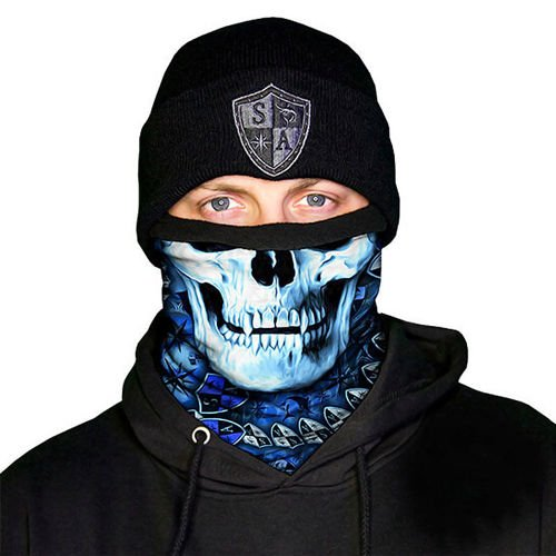 SA Co. Frost Tech™ Face Shield™ StealthTech Hydro Skull