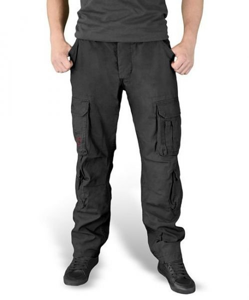 Surplus Airborne Pants Slim Black