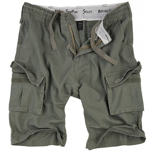 Surplus Bermuda Stars Shorts Olive