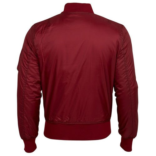 Surplus Bomber Jacket Burgundy