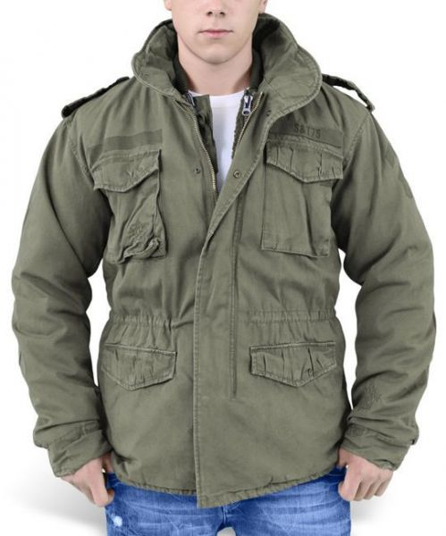 Surplus M65 Jacket Regiment 2in1 US Army Olive