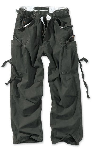 Surplus Pants M65 Vintage Black
