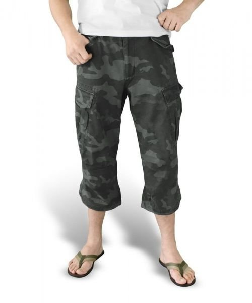 Surplus Shorts 3/4 M65 Engineer Black Camo
