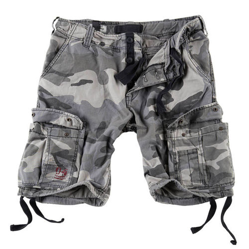 Surplus Shorts Airborne Vintage Night Camo