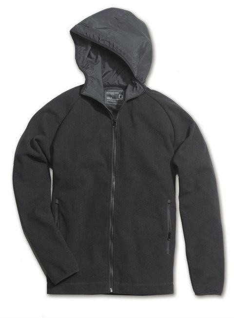 Surplus Sweatshirt Polar Fleece Hoodie Black