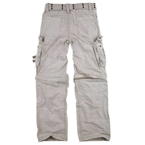 Surplus Trekking Pants Royal Outback 2in1 White