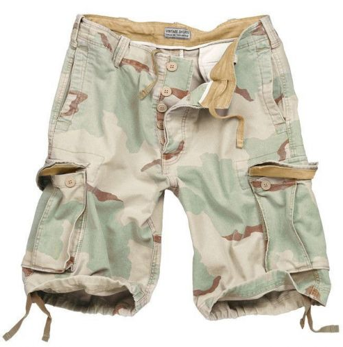 Surplus Vintage Shorts Desert 3-colour