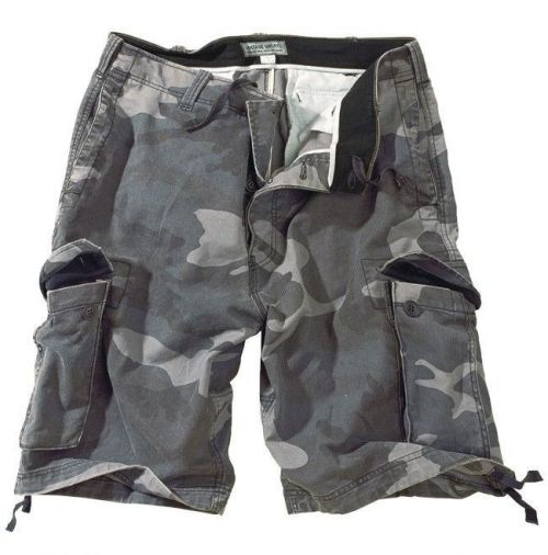 Surplus Vintage Shorts Night Camo