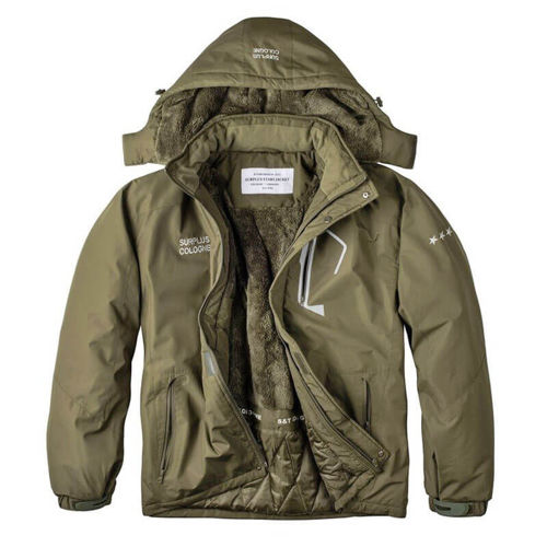 Surplus Winter Jacket Stars Olive