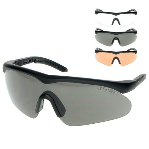 Swiss Eye Tactical Raptor Glasses + 3 Glass Colors