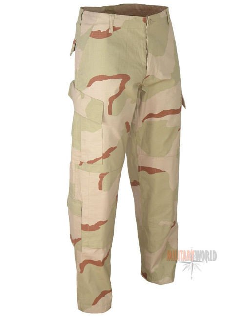 Teesar ACU Trousers Rip-Stop Desert 3-colour