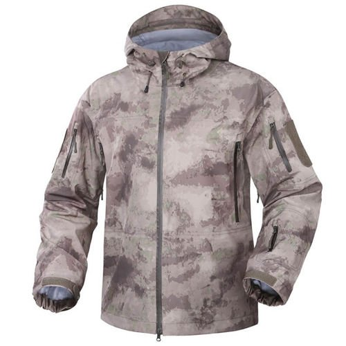 Texar Hardshell Tactical Jacket Comodo A-Tacs