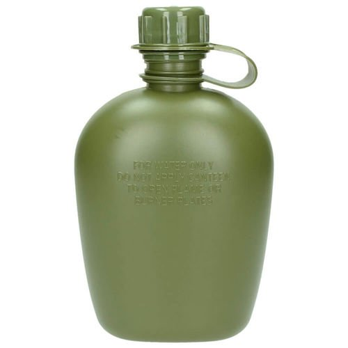 Texar Water Bottle with Cover Olive