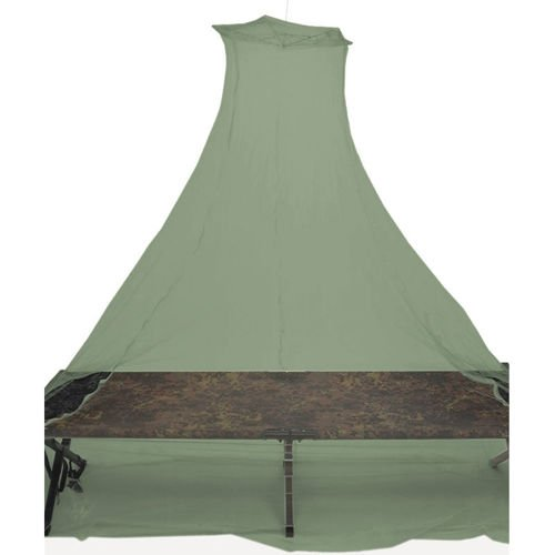 Touristic MOSQUITO NET for Bed Double Olive