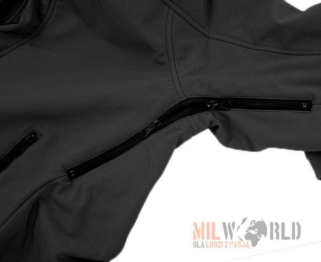 highlander bluza odin softshell czarna