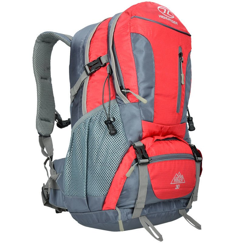 eba5282ca6014 Highlander Plecak Turystyczny Hiker 30L Czerwony | Milworld.pl