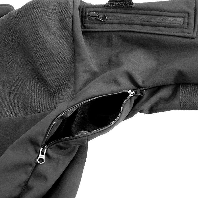 polecany mfh bluza softshell australia czarna