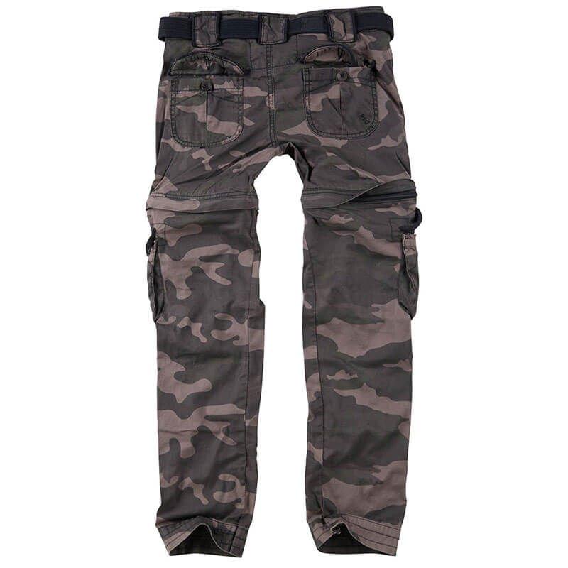 39776185da99a1 ... Surplus Spodnie Damskie Bojówki Trekking Premium 2w1 Black Camo