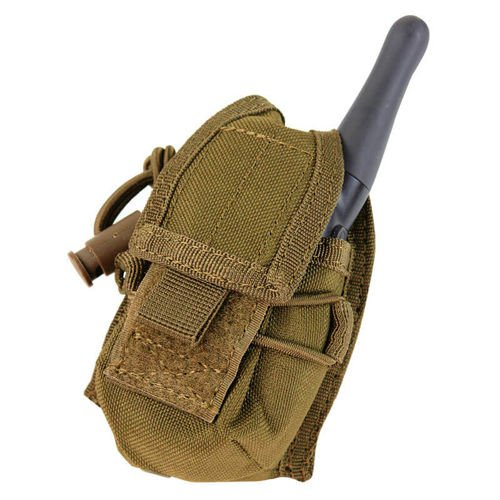 Condor Ładownica na Radio HHR Pouch Coyote Brown