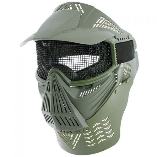 MFH Maska Airsoft Deluxe Olive
