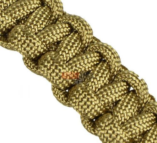Mil-Tec Bransoleta Paracord 15mm Coyote