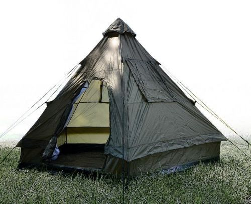 Mil-Tec Namiot 4 Osobowy Tipi Olive