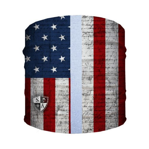 SA Co. Bandana dla Psa Dog Shield™ American Flag