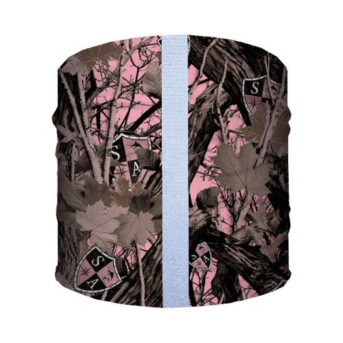 SA Co. Bandana dla Psa Dog Shield™ Pink Forest Camo