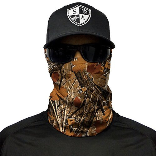 SA Co. Chusta Wielofunkcyjna Face Shield™ Forest Camo