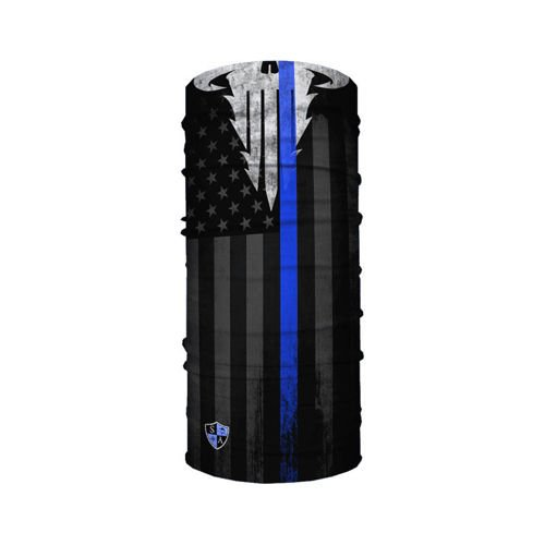 SA Co. Chusta Wielofunkcyjna Face Shield™ Police Appreciation Blue