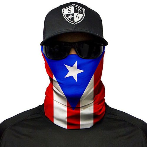 SA Co. Chusta Wielofunkcyjna Face Shield™ Puerto Rico Flag