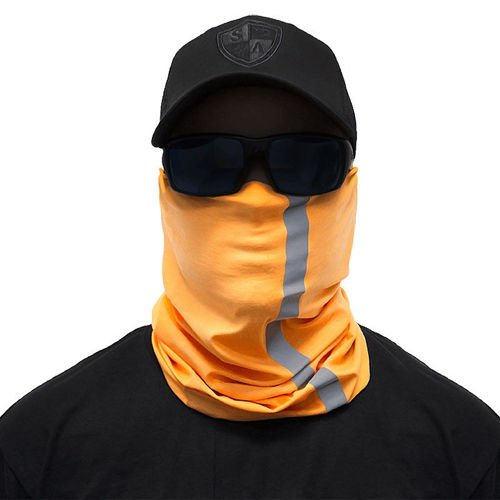 SA Co. Chusta Wielofunkcyjna Face Shield™ Reflective Electric Orange