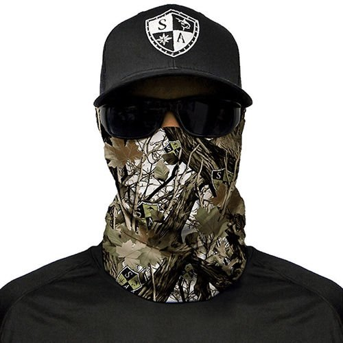 SA Co. Chusta Wielofunkcyjna Face Shield™ Snow Camo