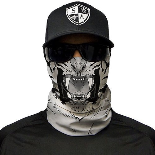 SA Co. Chusta Wielofunkcyjna Face Shield™ White Tiger