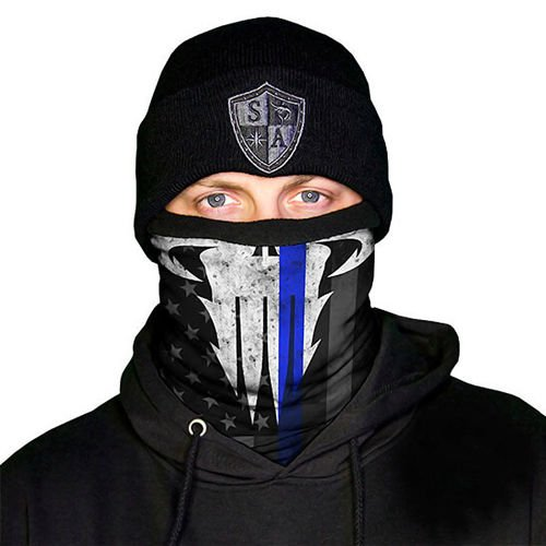 SA Co. Chusta Wielofunkcyjna Frost Tech™ Face Shield™ Police Appreciation