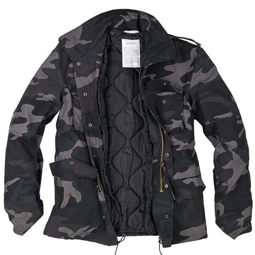 Surplus Kurtka M65 Classic 2w1 US Army Black Camo
