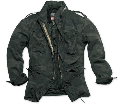 Surplus Kurtka M65 Regiment 2w1 US Army Black Camo