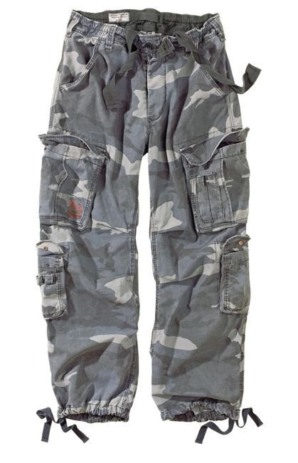 Surplus Spodnie Airborne Vintage Night Camo